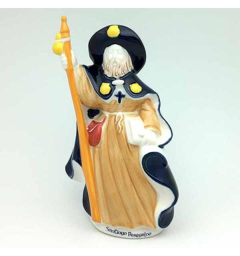 Pilgrim Santiago in porcelain