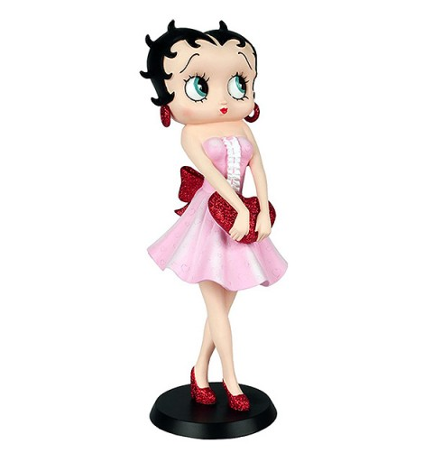 Betty Boop Holding Heart