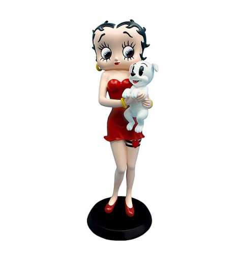 Betty Boop Holding Pudgy