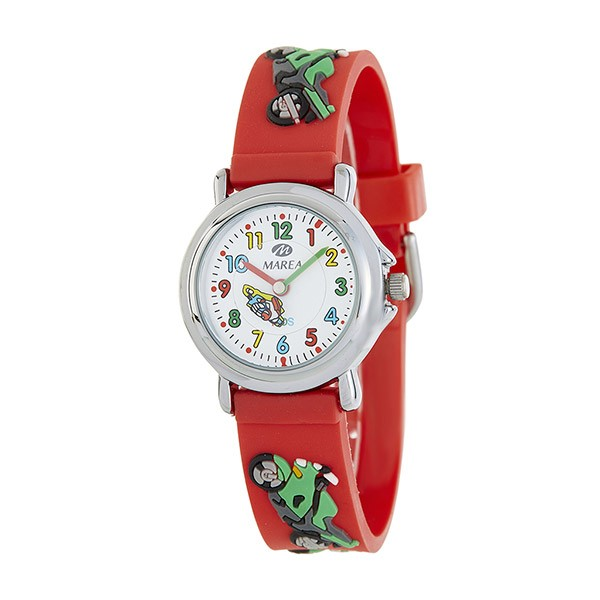Red watch, for children, Marea brand.