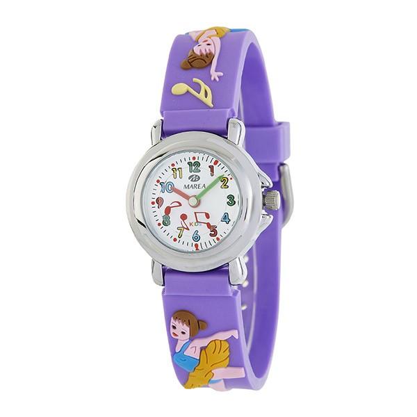 Reloj de color violeta para niñas