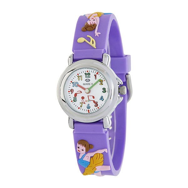 Violet watch for girls