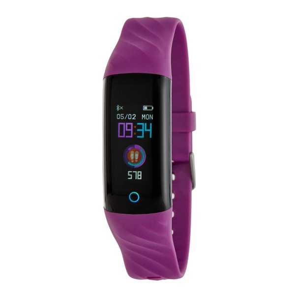 Lilac activity bracelet, Marea brand.