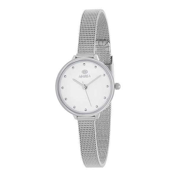 Ladies watch, with Milanese mesh.
