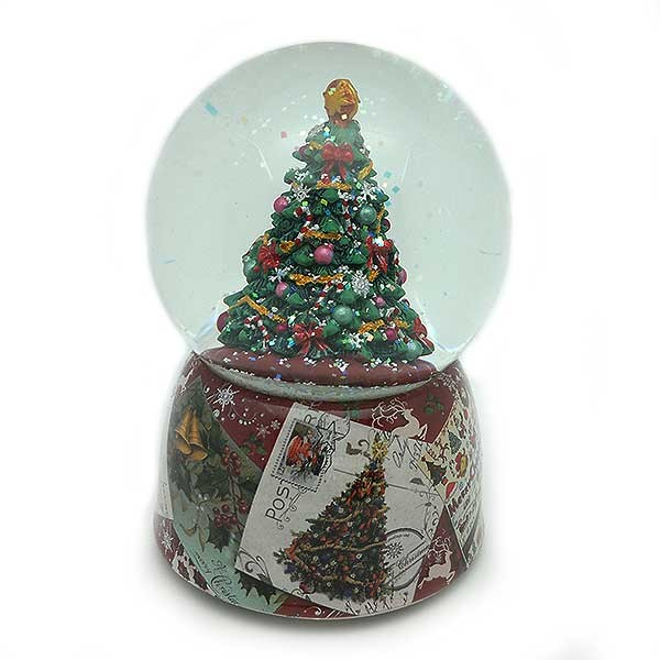 Christmas tree snowball