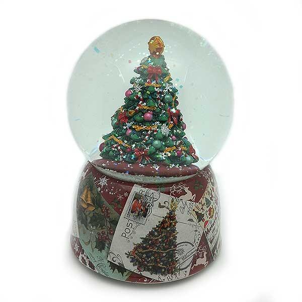 Christmas tree snowball