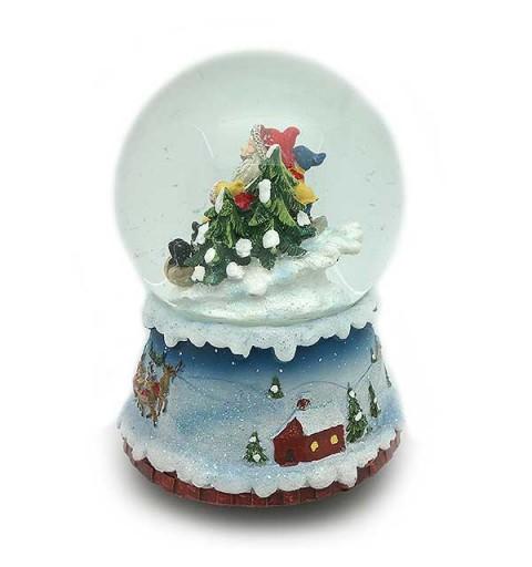 Snowball sled