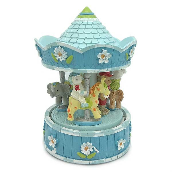 Blue Children's Carousel
