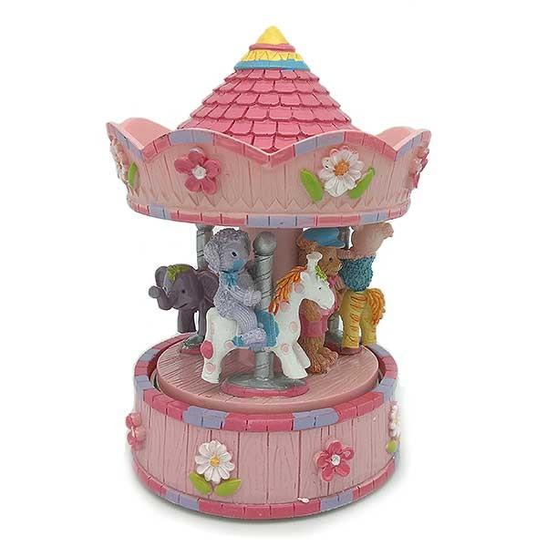 Pink Children's Carousel