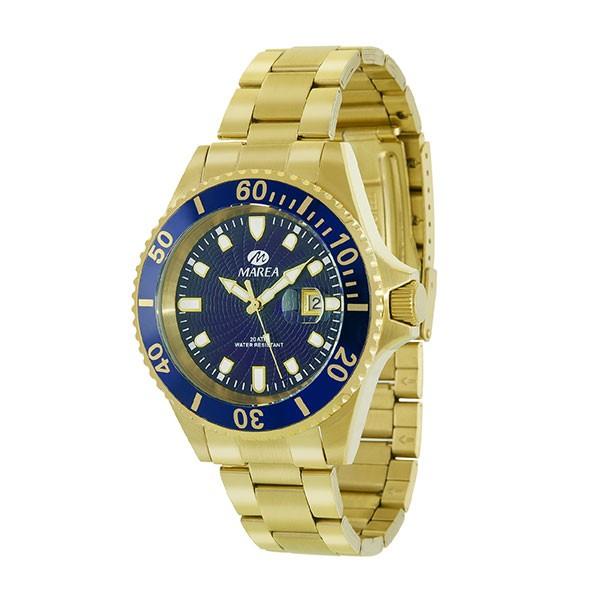 Reloj hombre, marca Marea. Tipo Rolex.