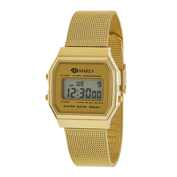 Marea gold woman watch, Casio type.