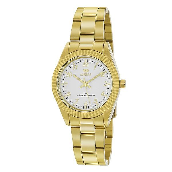 Reloj dorado para señora, clásico.