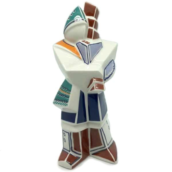 Cubist bagpiper, Galos