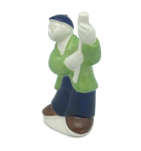 O Fogueteiro, ceramic Galos.