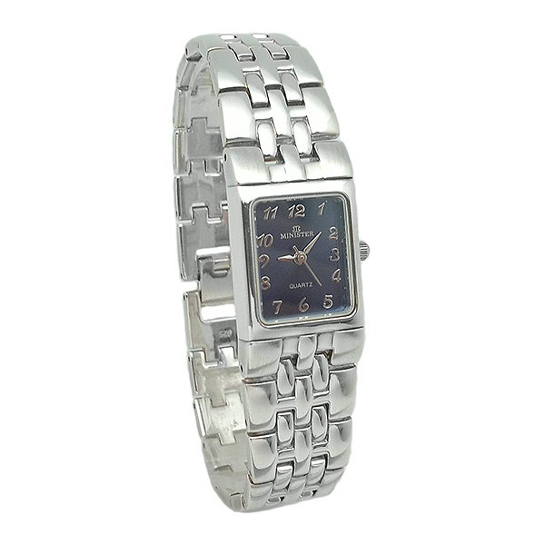 Ladies watch in sterling silver.
