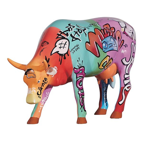 Hip Hop Cow