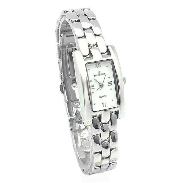 Reloj señora plata