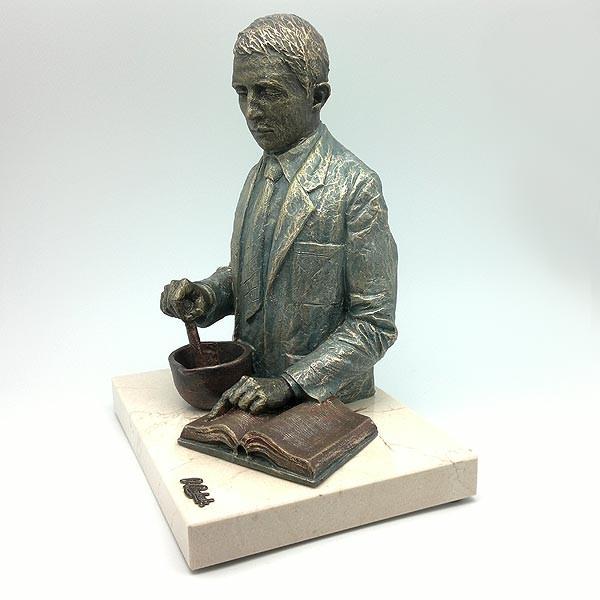 Pharmacist Angalada, with pedestal.