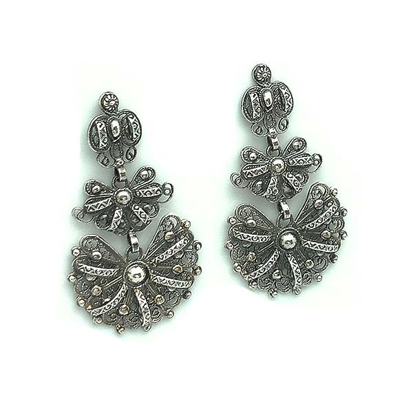 Galician earrings, small, ideal for girls.