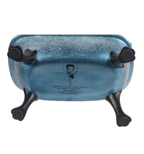 Betty Boop Blue Bathtub