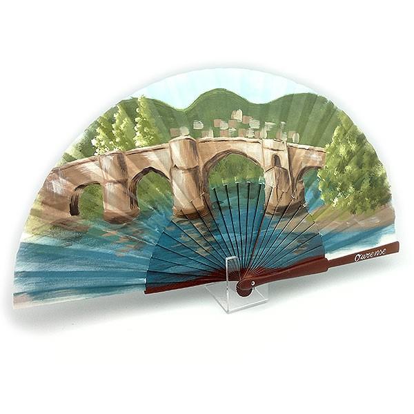 Fan, Roman bridge of Ourense.