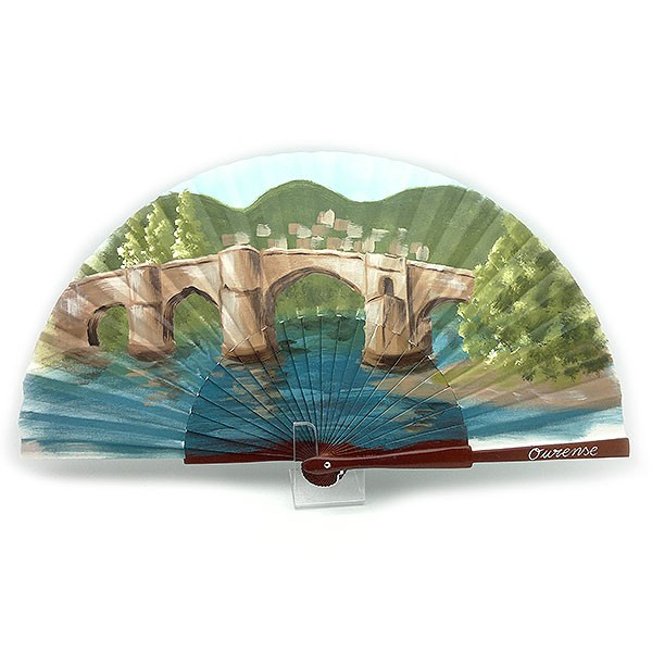 Fan, Roman bridge of Ourense.