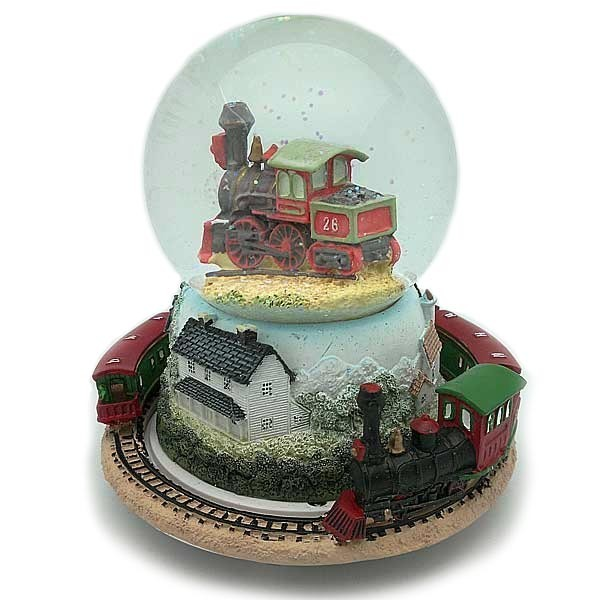 Snowball, with train.