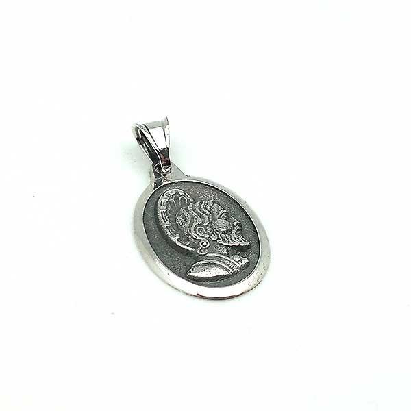 Oval medal, Santiago Apóstol