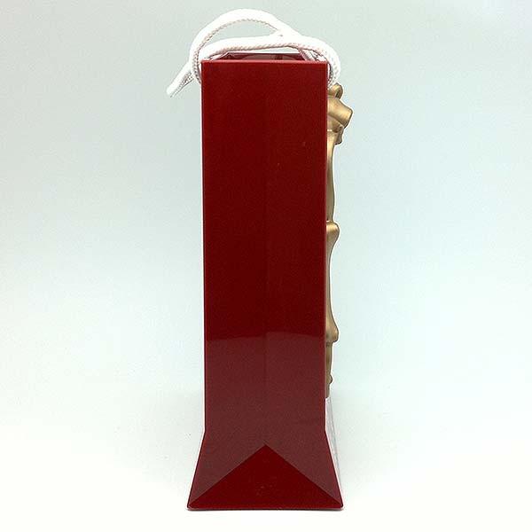 Christmas lantern, shaped like a Christmas bag.
