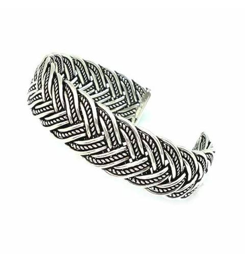 Silver bracelet, unisex