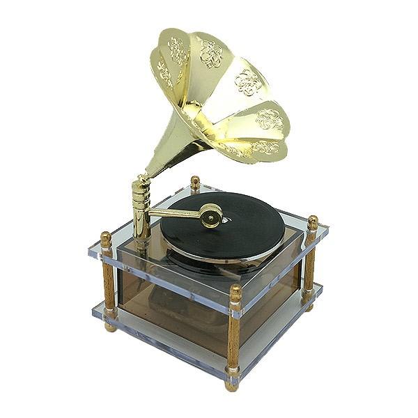 Caja de música gramófono