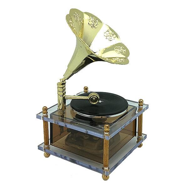 Gramophone music box