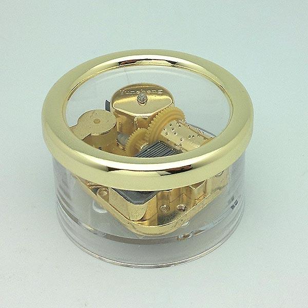 Round music box