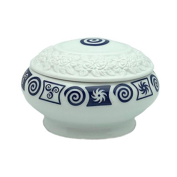 Caja porcelana espiral