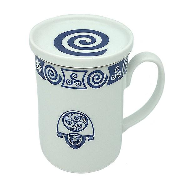 Celtic spiral tea cup
