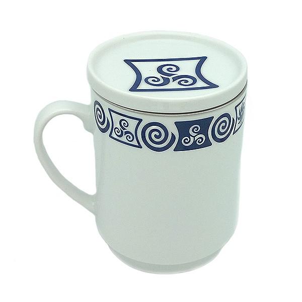 Taza de te grecas celtas