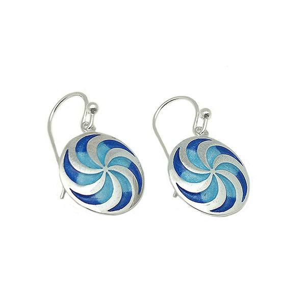 Celtic spiral earrings