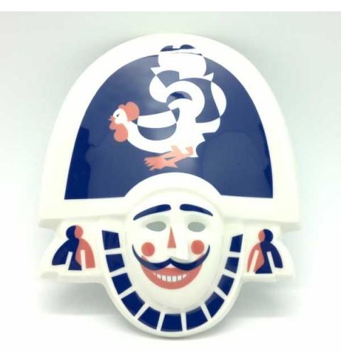 Máscara Carnaval Galos