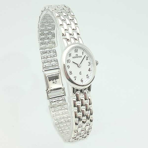ad20b8fe40a6 Reloj plata de ley para mujer