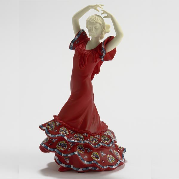 Sevillana de Rojo