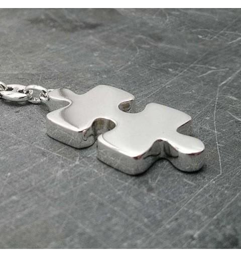 Llavero Pieza Puzzle