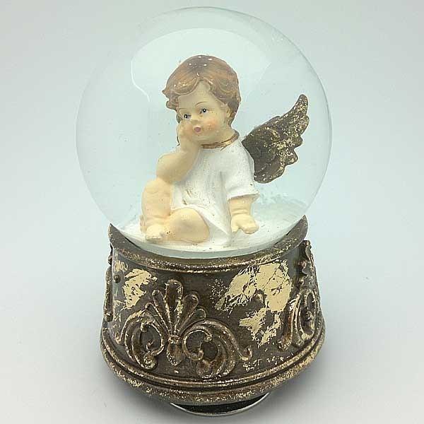 Snowball with Cherub
