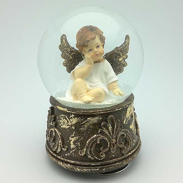 Snowball with Cherub