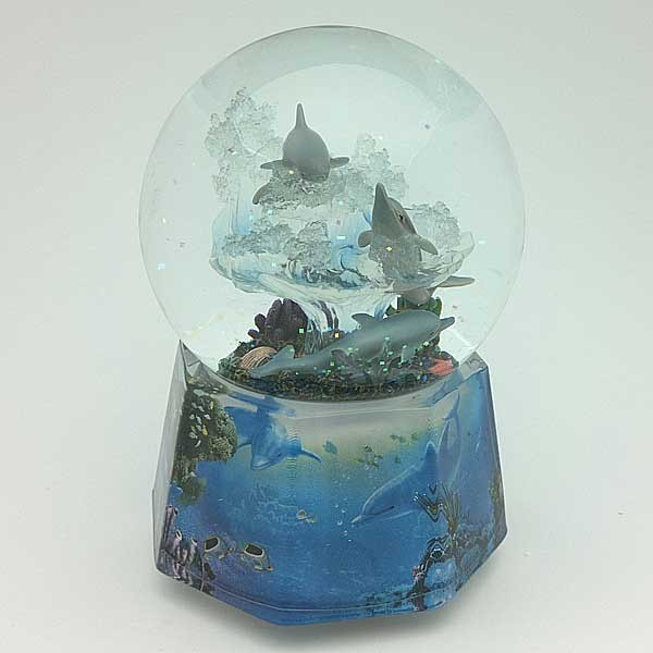 Snowball with Dolphins