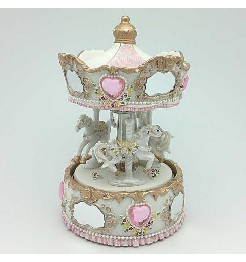 Miniature carousel horses
