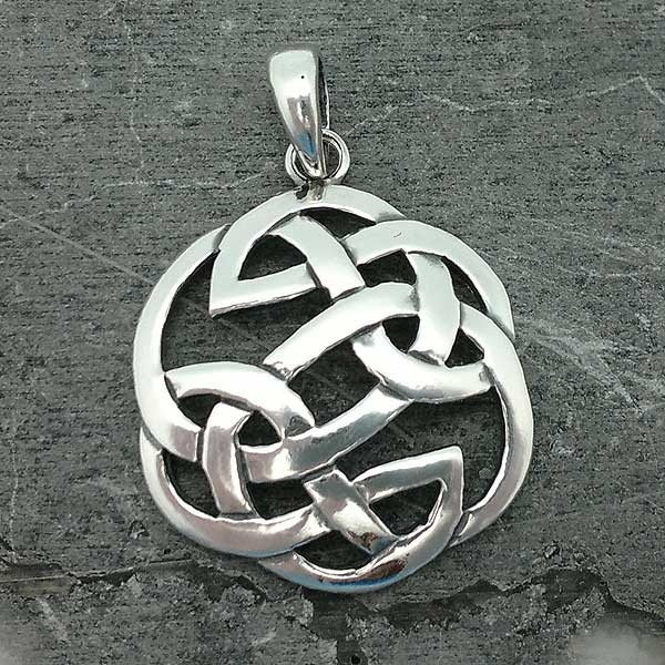 Celtic Knot Pendant with Lugh