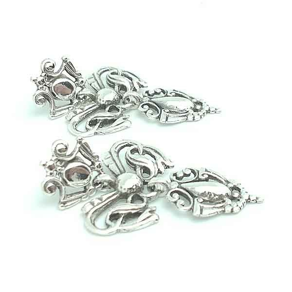 Sterling Silver Earrings Gallega