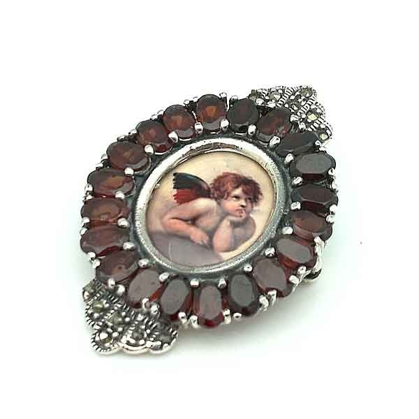 Cameo sterling silver