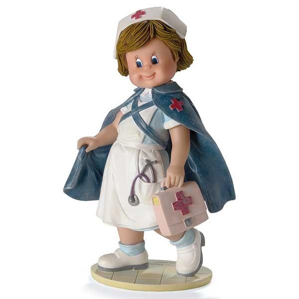 Seré una buena enfermera