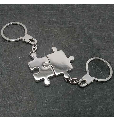 Keychain double piece 3D puzzle